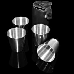 Kieliszki metalowe małe 17000 (4 sztuki)