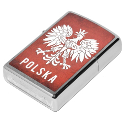 Zapalniczka Zippo Polska Brushed Chrome 60002128