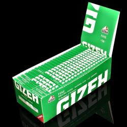 Bibułki Gizeh Fine Cut Corners (50x50 listków)