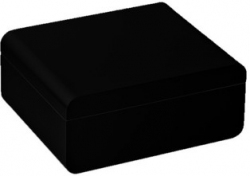 Humidor Adorini Carrara Medium Black Deluxe 6096