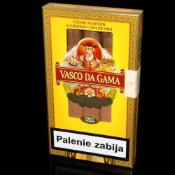 Vasco da Gama Corona Capa de Oro (5 cygar)
