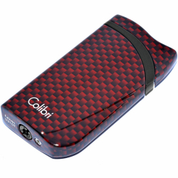 Zapalniczka Colibri Falcon Carbon Fiber Red LI310T7