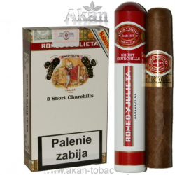 Romeo y Julieta Short Churchills Tubos (3 cygara)