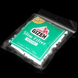 Filtry Gizeh Slim Menthol - filtry papierosowe (120 szt)