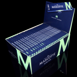 Bibułki Mascotte Slim Size Magnetic (50 x 34 listki)
