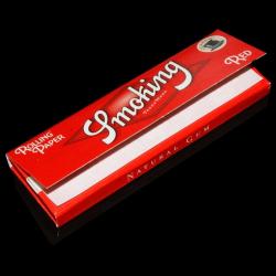 Bibułki Smoking Red (classic) - 60 bibułek
