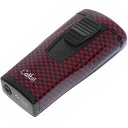Zapalniczka Colibri Monaco Carbon Fiber Red LI880T12
