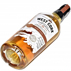 Whiskey West Cork 12YO Rum Cask 43% (0,7L)