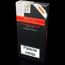 Partagas Serie P No.2 Tubo (3 cygara)