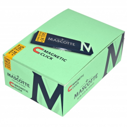 Bibułki Mascotte Slim Size Magnetic+ Filtry (26 x 34 listki)