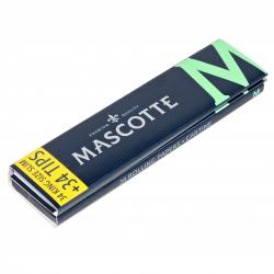 Bibułki Mascotte Slim Size Magnetic+ Filtry (34 listki)