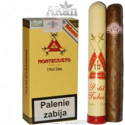 Montecristo Petit Tubos (3 cygara)