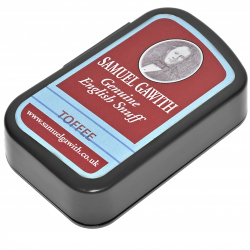 Samuel Gawith Genuine English Snuff - Toffee 10g