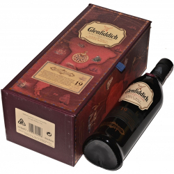 Whisky Glenfiddich 19YO Red Wine 40% (0,7L)