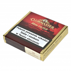 Clubmaster Mini Red Filter (20 cygaretek)