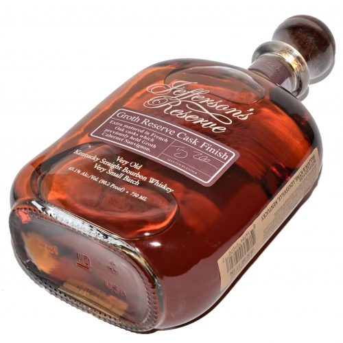 Bourbon Jeffersons Groth Reserve Cask 45,1% (0,75L)