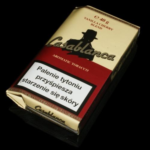 Casablanca Vanilla Cherry Blend - tytoń papierosowy 40g
